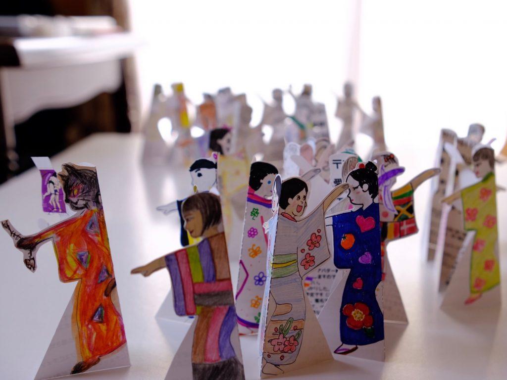 アバター紙人形